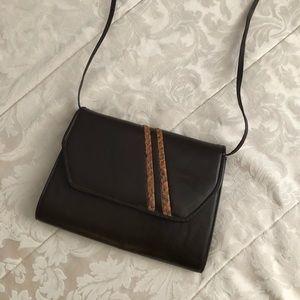 Genuine leather vintage purse